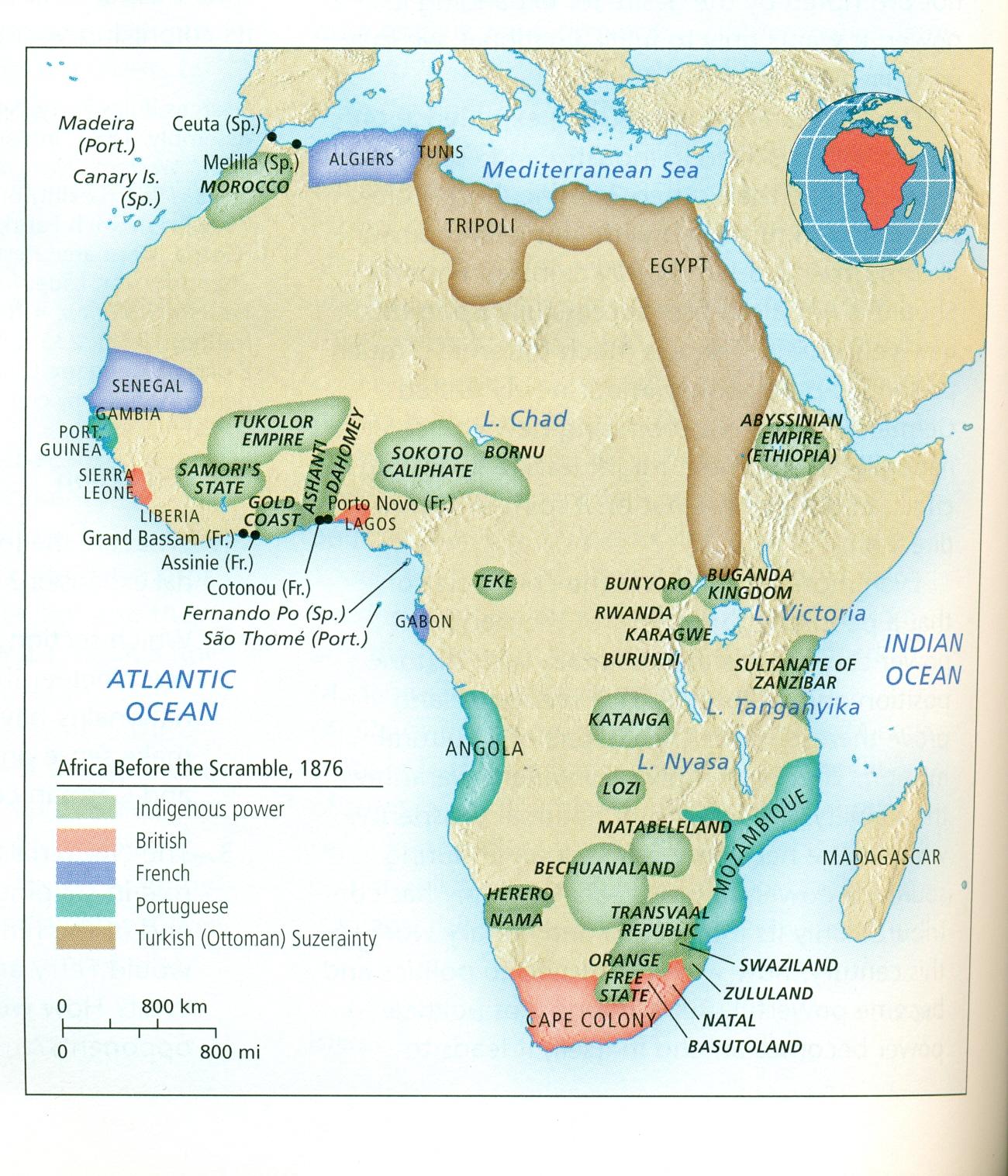 Pre Scramble Africa