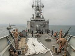 Protección al programa de alimentos de la ONU y ante la piratería, Océano Índico. Operación Atalanta