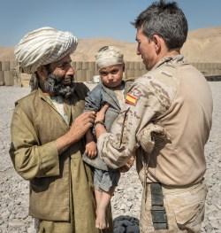 Ayuda y apoyo a los Civiles - Afganistán