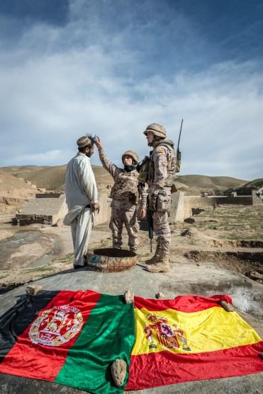 Desarrollo de infraestructuras - Afganistán