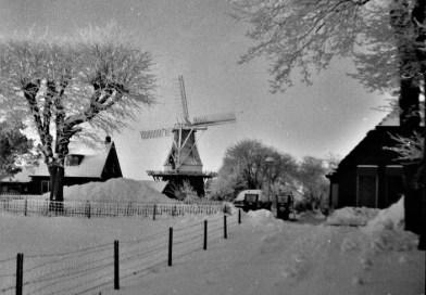 Noordbroek, barre winter 1979