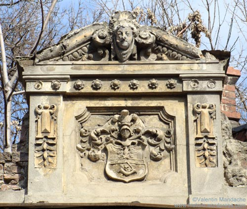 c19th coat of arms, Bucharest
