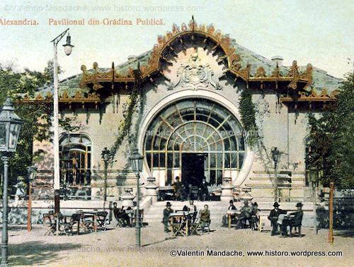 Art Nouveau Beer Restaurant in Provincial Romania