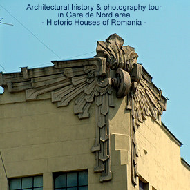 Sunday 24 March architectural walking tour in Gara de Nord area (1/3)