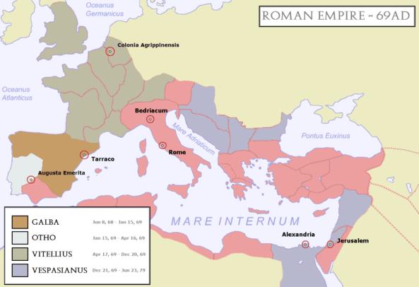 Emperor Trajan Article Map 1