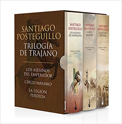 """""""Trilogía de Trajano"""" by Santiago Posteguillo"""
