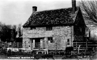 Postcard of 14 Charney (Brook Cottage) as the PO and Stores. No date, but this card was sent from Charney to London on 25/08/1930