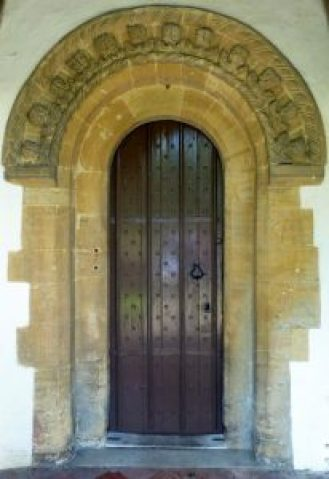 St Peter's Church Doorway June 2016