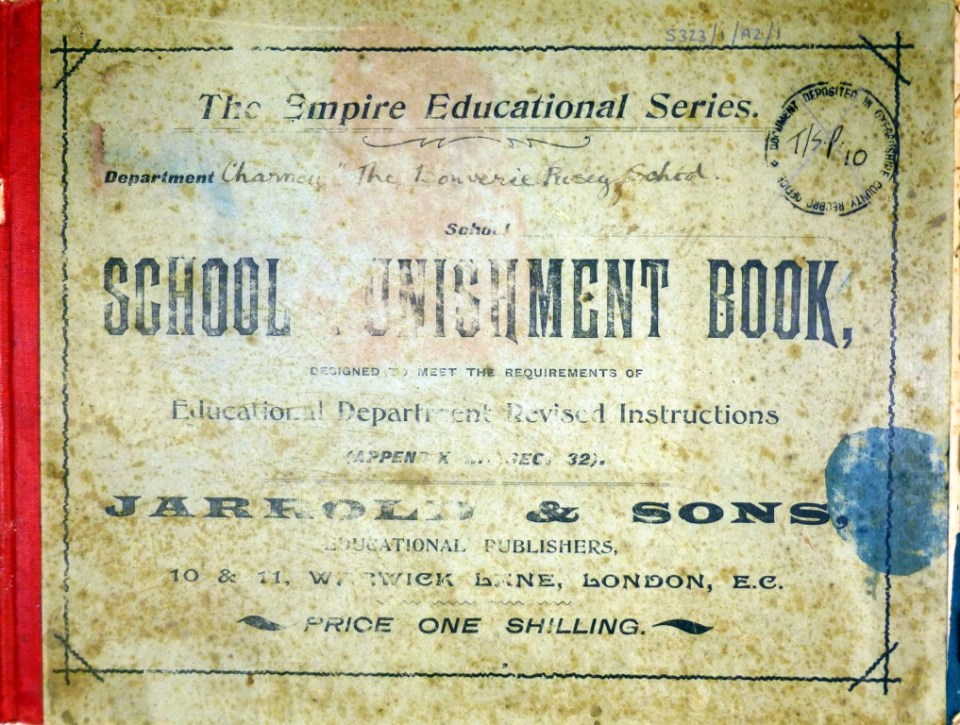 School Punishment Book