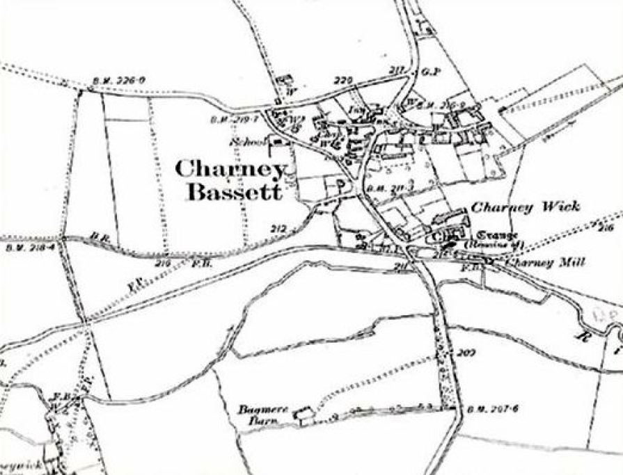 Village Map 1910 Revised 1923