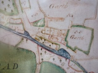 kmap3 The mill and two mill ponds are detailed as is the Church. No bridge over The Ock is shown so perhaps it was a ford?