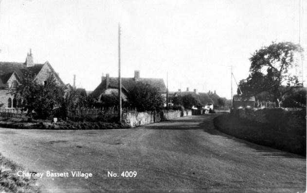 Main Street/ New Road junction. Post Card sent 1965.