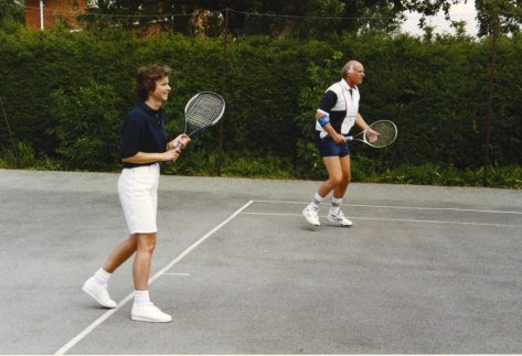 Tennis Club 25 years June 1992