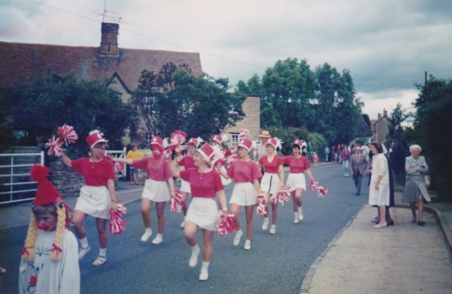 majorettes at fete 1