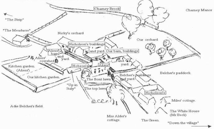 Sketch plan - Manor Farm