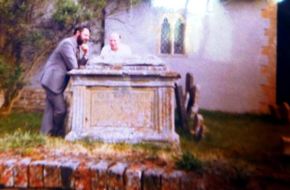 Terry Waite at St Peter's