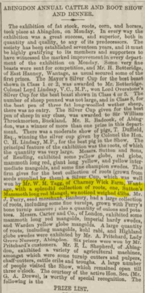 Reading Mercury - Saturday 25 November 1871