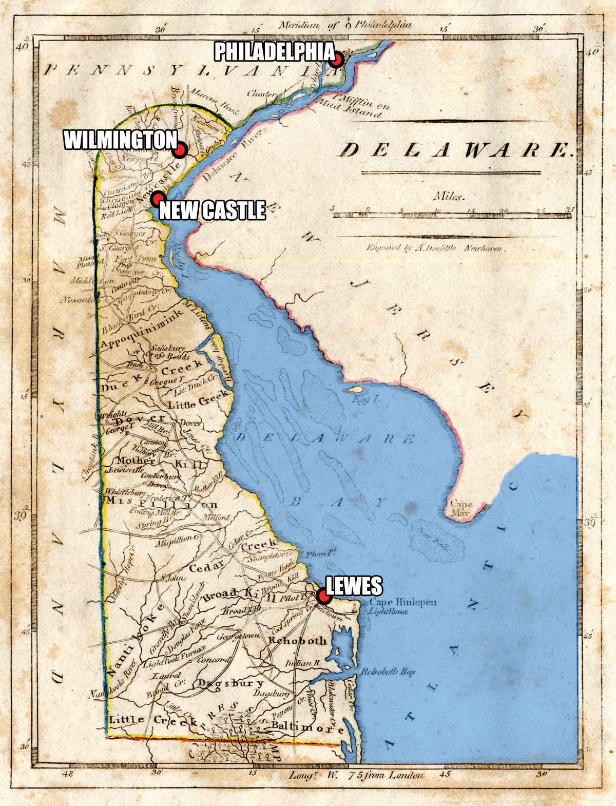 Delaware And The War Of An Introduction