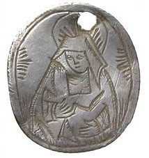 Recusant pendant found on the Isle of Wight