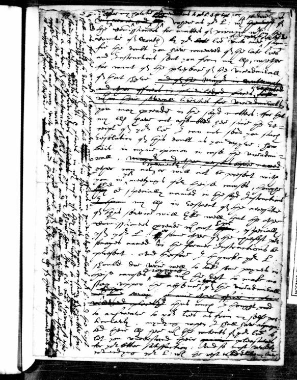 SP 12/132 f.1 – The hardest document that I have had the pleasure to transcribe. Early modern writing can be hard to decode and can make you feel like you want to give-up at first. But, weirdly, after a while they become easier to read