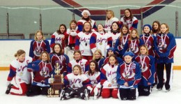 """Calgary Petite """"AA"""" STORM and the Silver Medalists, Sherwood Park Nightmare"""