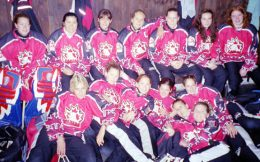 Canada Polar Bears Ringette team 2003