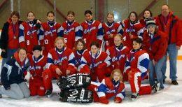 Petite AA Rush - Wood Tournament in Edmonton
