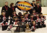NW Petite A Survivors won Gold in the City Championships