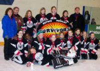 NW Petite A Survivors - Silver Medal at the Esso Golden Ring