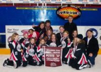 NW Petite A Survivors - Gold Medal at the Kelowna Sweetheart Tournament