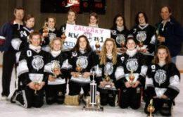 "CALGARY TWEEN ""AA"" Northwest Silver Bullets - City Champions"