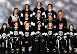 NW TWEEN B STORM Back Row: Amie Barnes, Rebecca McNeil, Brittany Boutin Middle Row: Bernie Boutin (asst Coach), Nikki Mangan, Robyn Aiello, Cecile DeGagne, Rob DeGagne (asst Coach) Front Row: Maia Aquart, Emily Schmaltz, Kathleen Restoule, Tawny Poelzer, Allison Snowden, Lauren Redgate, Melanie Smith Missing: Arienne Poelzer (coach), Bob Barnes (asst Coach), Judy Smith (mgr)