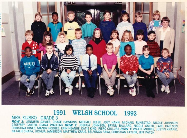 Welsh School 1991 1992 sm
