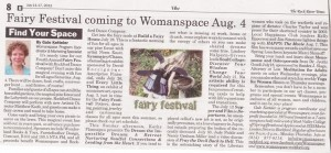 Womanspace hosts Fairy Festival 2012