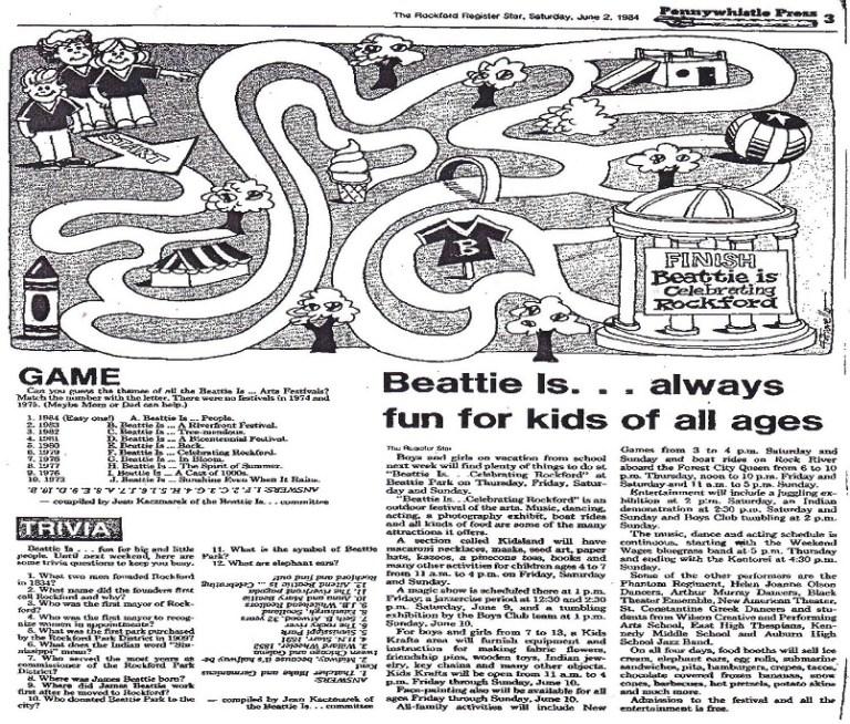Battie is Kids Map