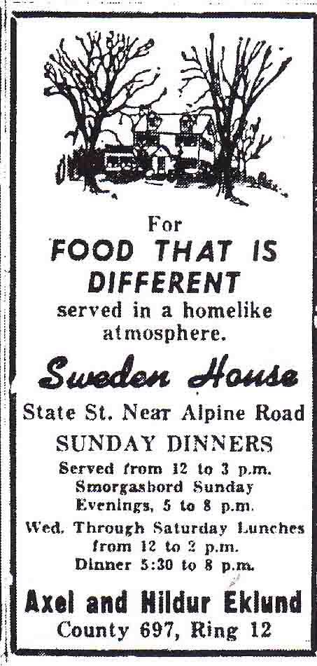 Sweden House 1946