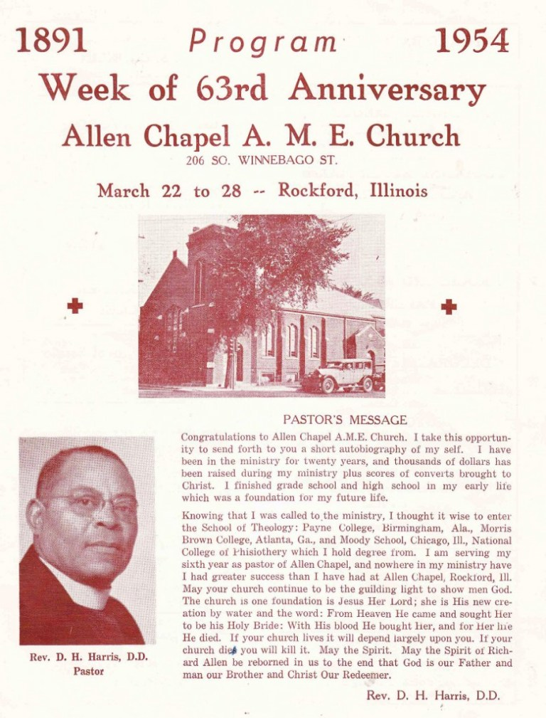 Allen Chapel A. M. E.