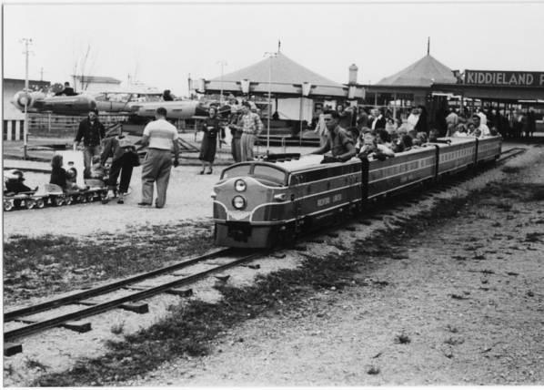 Kiddie Land train