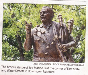 statue of Joe Marino