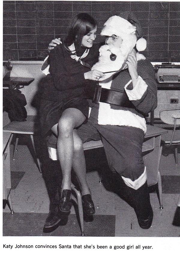Katy and Santa