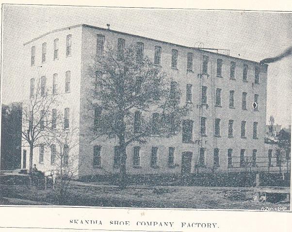 Skandia Shoe Co. Factory