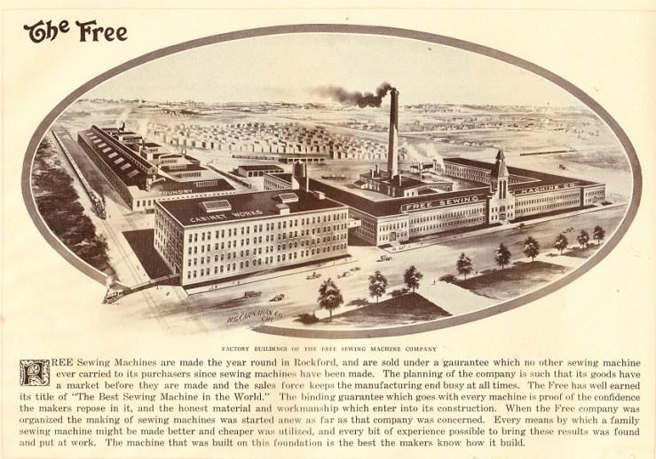 Free Sewing 1917