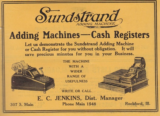 Sundstrand Adding Machine