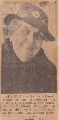 Barnes, Mrs B Frank - 1