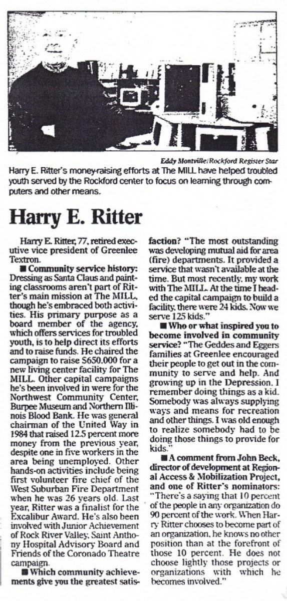 Ritter 1999