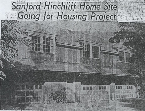 Sanford-Hinchliff Home