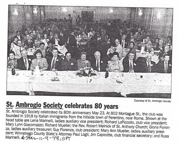 St. Ambrogio Society
