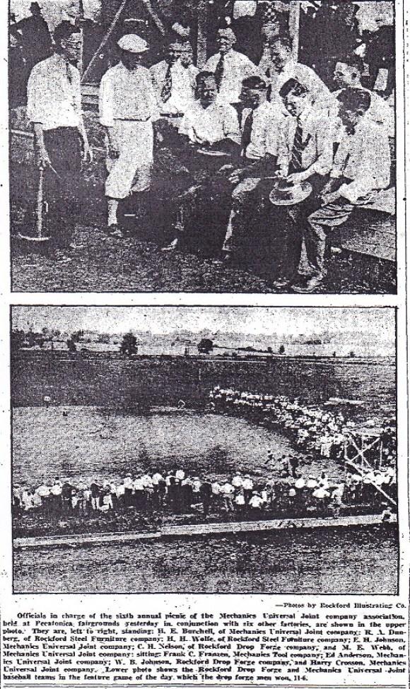 Mechanics U.J. picnic