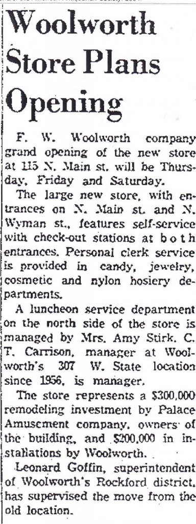 Woolworth 1958