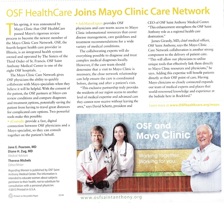 OSF Mayo Clinic